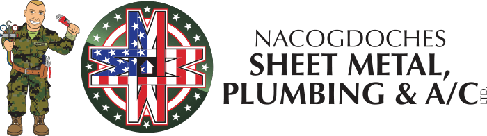 Nacogdoches Sheet Metal, Plumbing & Air Conditioning Logo